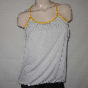 Lululemon No Limits Sports Bra Tank Yoga Top Gray